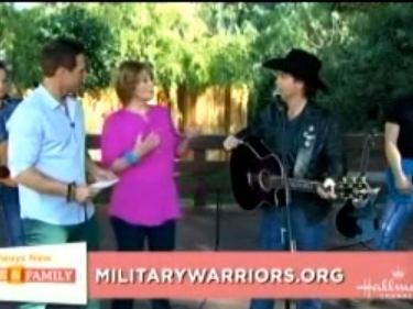 Clay Walker on Home & Family